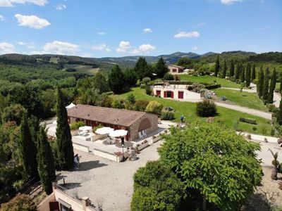 Photo for Vacation home Residence Il Girasole (MVC130) in Montecatini Val di Cecina - 4 persons, 2 bedrooms