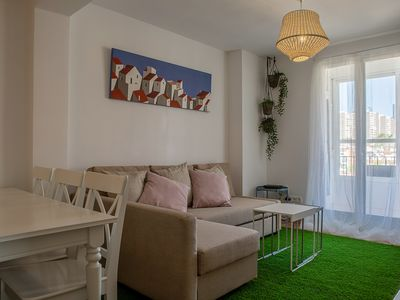 Photo for Comfy 3 Bed / 8 ppl Apartment in El Pilar