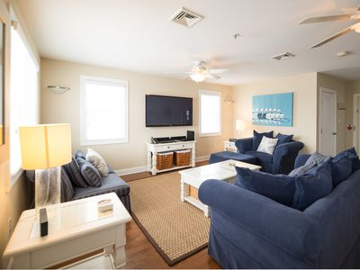 Photo for Large 4BD Beach Condo w/10 Beach Tags Close to Boardwalk Rides/Shopping District