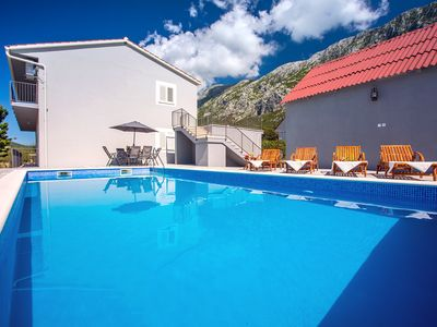 Photo for New! Apartment Family dream with private pool, 3 bedrooms, suitable for 8 people