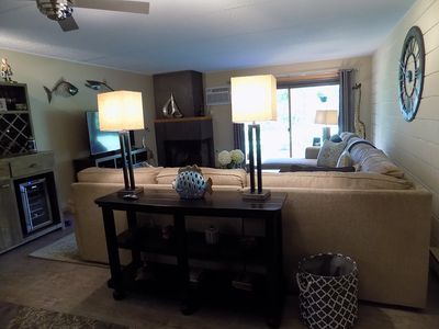 Spacious, well appointed living room!  You'll love being home!