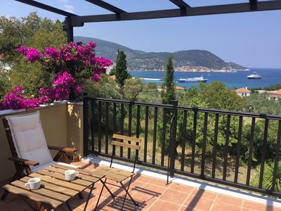 """Photo for """"Kitty"""" has great views,is quiet, in the country only 1000 meters from Skopelos"""