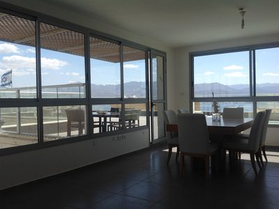 Photo for 5 room apartment / private pool / panoramic sea