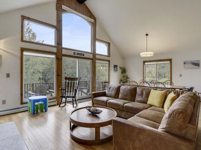 Photo for 8 Bedroom home on Barrows Road! Hot Tub and Wood Fireplace