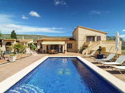 Photo for Vacation home Casa Moll  in Moraira, Costa Blanca - 10 persons, 5 bedrooms