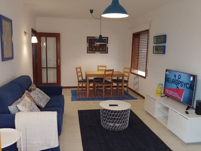 Photo for Apartment 30m from the sand of Congreira beach (Praia Nova), Vila Cha