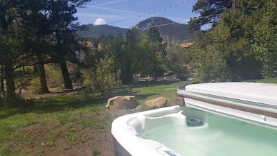 Photo for Cabin on Big Thompson River; sleeps 6-8, 1 mile to East Rocky Mtn. N.P
