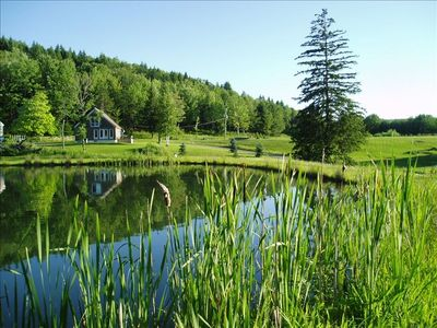 Photo for Mountain Country House on 70 Acres with 5 Ponds