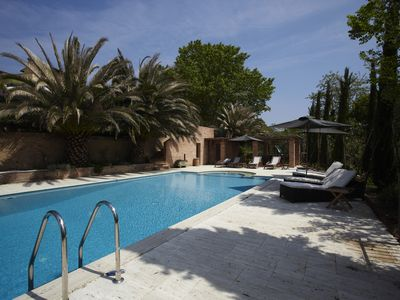 Photo for Stunning Luxury Villa with a Beautiful Pool, Large grounds and Tennis Court
