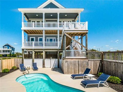 Photo for Good Tide-ings: Pool & 5 BR / 3.5 BA house in North Topsail Beach, Sleeps 12