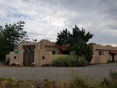 Photo for Casa de la Luz, a beautiful Taos home.