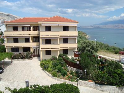 Photo for Apartment in Pag (Pag), capacity 4+3