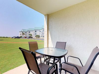 Photo for NEW LISTING! Gulf front condo with fun for everyone - resort amenities & wifi!