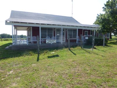 Photo for 350 acres Grandpa's Farmhouse! 1/4 mile of river & 40 minutes from TCU!- see vid