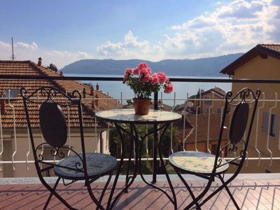 Photo for Giuse in the historical centre of Verbania Pallanza with lakeview