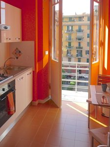 Photo for Bright, newly renovated 2-bedroom apt in the heart of historic Rome, for foodies