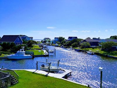 Photo for Luxury Waterfront Home with Gourmet Chef's Kitchen & Relaxing Sunsets