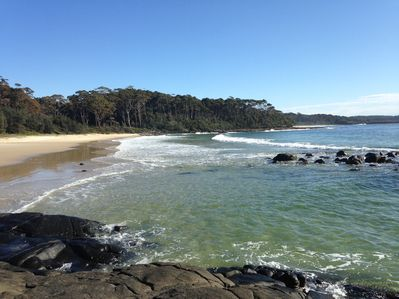 Bawley Beach is only 200m from your front door