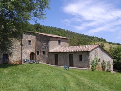 Photo for 7 bedroom Villa, sleeps 14 in Spineta with Pool and WiFi