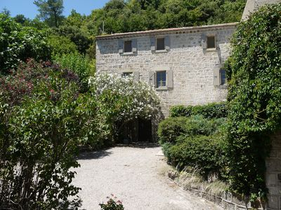 Photo for Charming renovated house 2017 classe 3* with lovely garden and river Beaume 3km