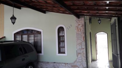 Photo for Linda House Vila Caiçara 400 meters from the sea !!