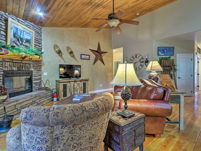 Photo for NEW! Private Lakeside Home - Mins to Rainbow Lake!