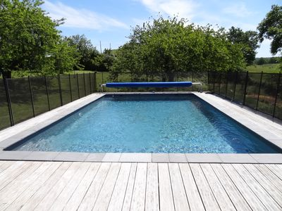 Pool…located in the lower part of the garden.