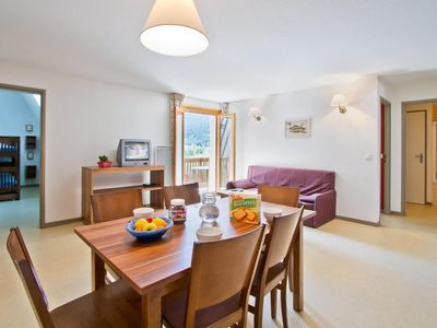Photo for Surface area : about 28-35 m². Living room with bed-settee. Bedroom with double bed