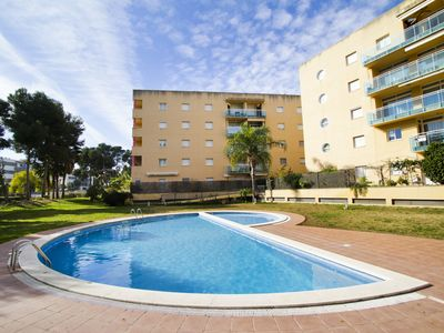 Photo for GOLDEN 3 Duplex with communal pool. Beach at 300m