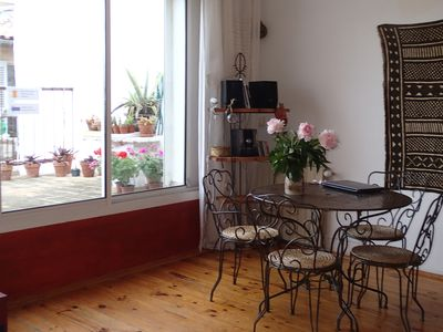 Photo for Large DUPLEX in the CART neighborhood OLD PORT :) TERRACE View Charm Quiet