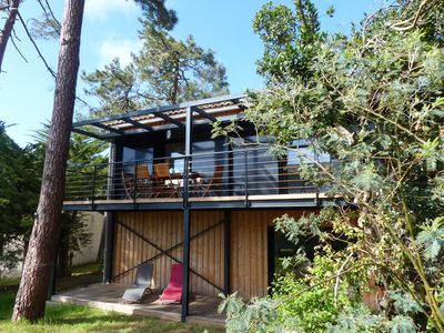 Photo for Pleasant architect house 150 south m2quartier. Near beaches and center.