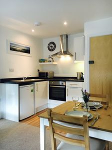 Photo for Apt 5 is a modern 1 bed flat 1 mile from the beach