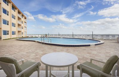 Photo for Perfect for Families - Pool side patio directly facing the Ocean