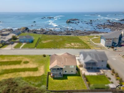 Photo for Crescent City Beach Housew/ Ocean & Beach Out Front Door! Great Views!