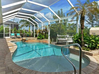 Photo for 25% OFF! -SWFL Rentals - Villa Leila - Luxury Gulf Access Pool Home