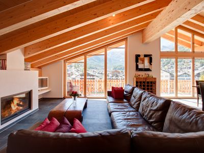 Photo for Beautiful 3 Bedroom Penthouse - A Short Walk to the center of Zermatt