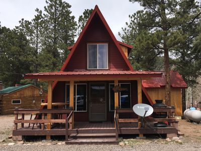 Photo for NEW! Pinon Pines in Ponderosa. 2 bedroom, 2 bath cabin in South Fork
