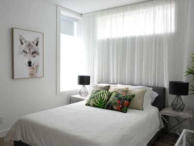 Photo for GROUND FLOOR 5 bedrooms + 6 bathrooms + very large courtyard on Saint-Denis St