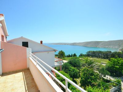Photo for 1BR Apartment Vacation Rental in Vlasici - island Pag