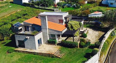Photo for Luxury house in Sanxenxo, facing Ons and Cies Islands, 2000m2 garden, free wifi