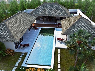 Photo for 4BR Villa Vacation Rental in ungasan, Bali