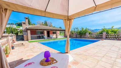Photo for 6-people holiday villa with spectacular views of the countryside in Tolox