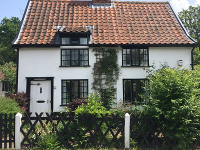 Photo for Near Southwold. Pretty character cottage. Enclosed garden and off road parking