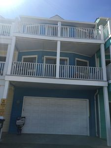 Photo for BEAUTIFULLY RENOVATED TOWNHOUSE ON THE BEACH, PRIVATE GARAGE AND ENTRANCE