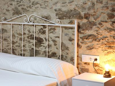Photo for Stately house S. XIX in Monfragüe double bed room nº 2
