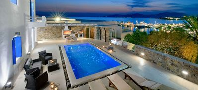 Photo for REMARKABLE VALUE. UNBEATABLE LOCATION. LIVIA EXECUTIVE PRIVATE 2 BEDROOM VILLA IN MYKONOS TOWN
