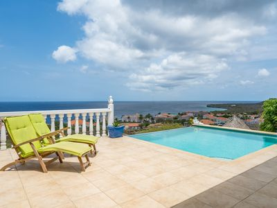 Fantastic ocean view villa with private pool on luxury resort Coral Estate
