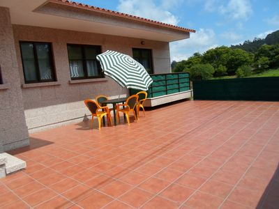 Photo for APARTMENT IN THE RURAL WITH TERRACE IN SANXENXO, NEAR THE SEA (FREE WIFI).