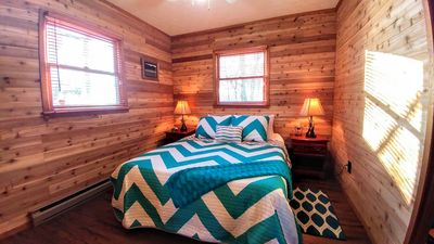 Photo for Spectacular 180 Mountain view! REMODELED CABIN, FIRE PLACE, AC