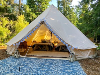 Photo for The Happy Canvas Bell Tent